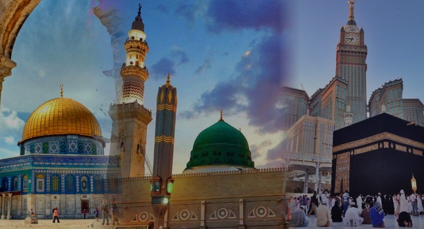 Journey of 3 Holy Mosques