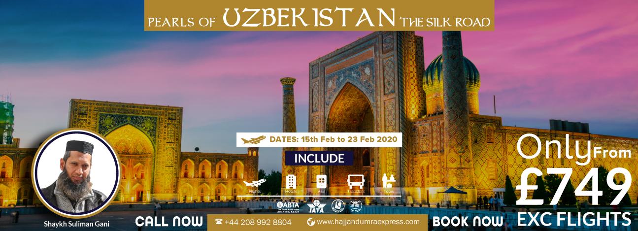 Uzkebistan Tour 2020
