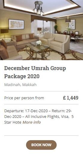 December Umrah Group Packages