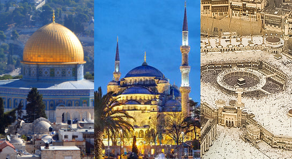 Journey of 3 Holy Mosque April 2021
