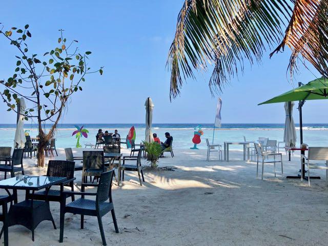 hulhumale beach maldives